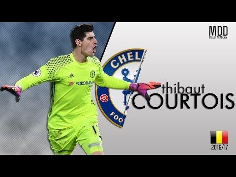 Thibaut Courtois | Chelsea | Best Saves | 2016/17 - HD