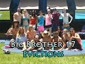 Big Brother 17 All Evictions
