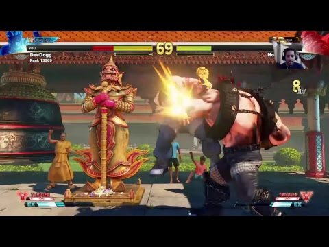 STREET FIGHTER V – DeeDogg vs hoodgood45 ft5