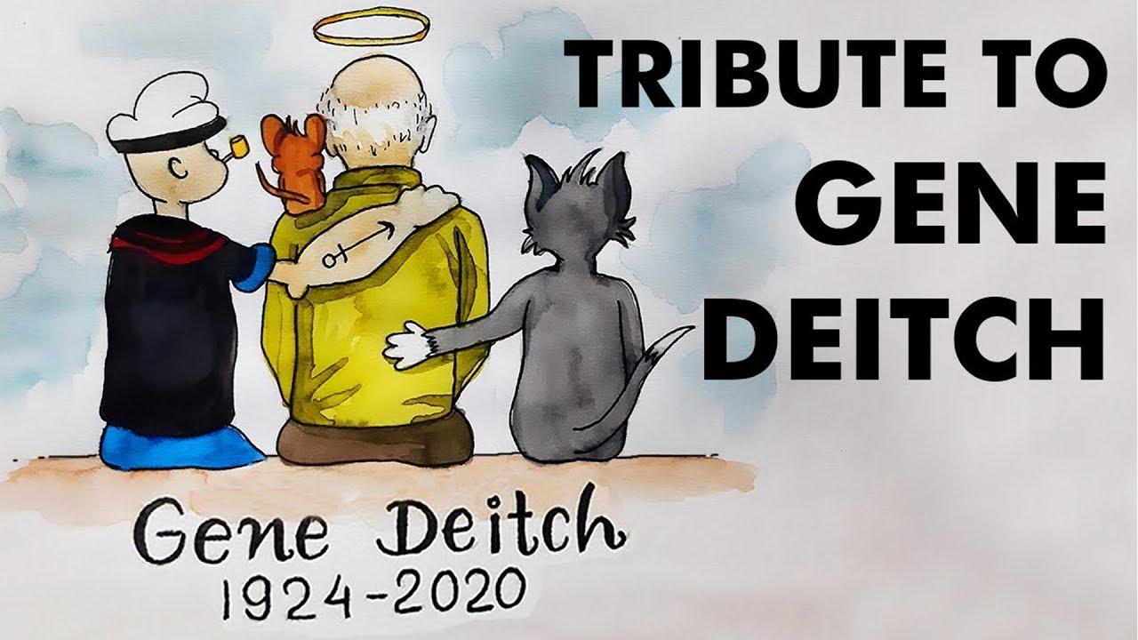 Gene Deitch the American illustrator