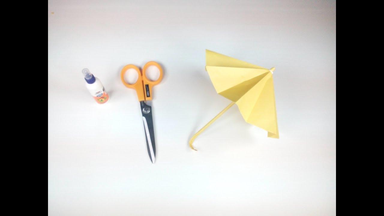 Order a paper umbrella that opens and closes