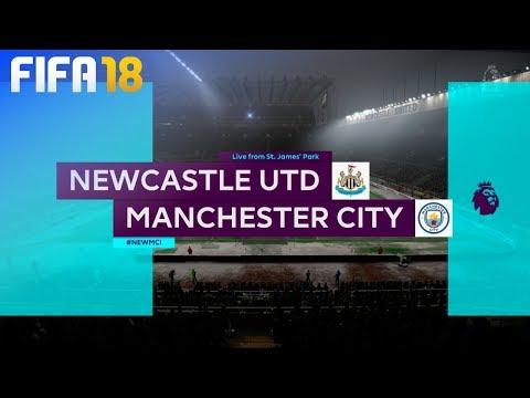 FIFA 18 - Newcastle United vs. Manchester City @ St. James' Park