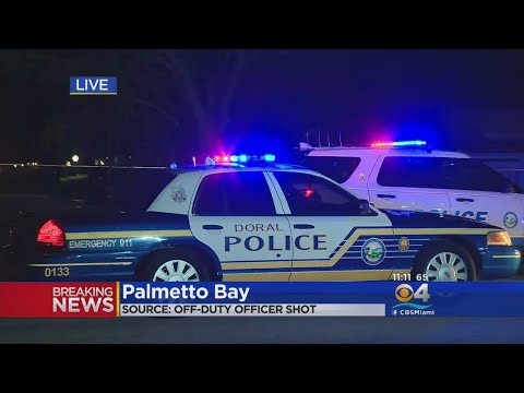 Off-Duty Doral Police Officer Shot In Palmetto Bay