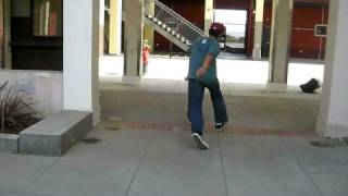 Skating at Lincoln Highschool