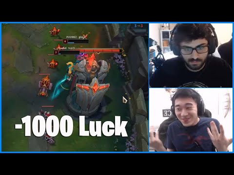 """Here's What You TRULY Call """"UNLUCKY"""" In League of Legends...LoL Daily Moments Ep 1058"""