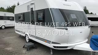 Hobby De Luxe 495 WFB 2018