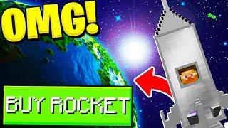 GOLD RUSH 3.0 *THE CRAZIEST UPDATE* ROCKET SHIP MOD - Modded Minecraft Minigame (Minecraft 1.12.2)