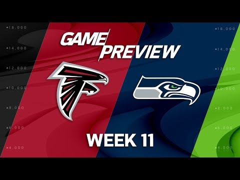 Atlanta Falcons vs. Seattle Seahawks | NFL Week 11 Game Preview | NFL Playbook