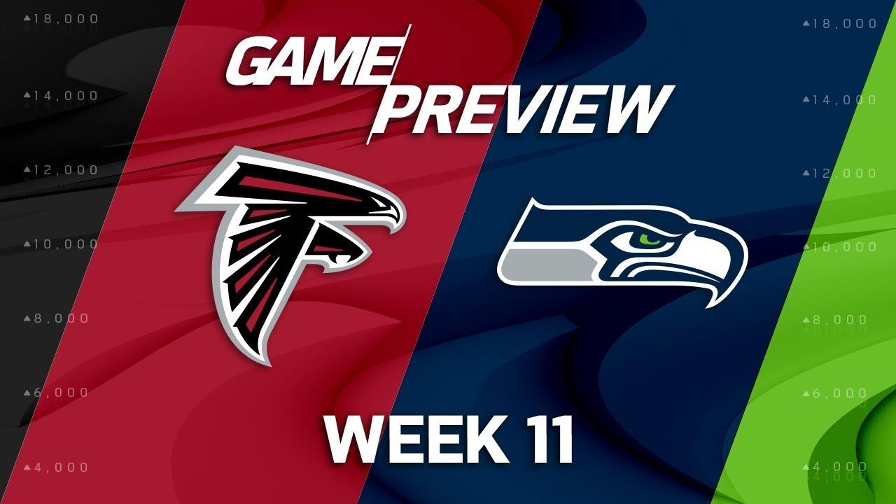 Atlanta Falcons vs. Seattle Seahawks | NFL Week 11 Game ...