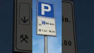 길거리 무료 주차, 60 분까지는 주차요금 무료 /// Il parcheggio gratuito entro 60 minuti