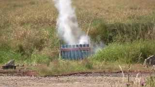1st Galaxy Fireworks Ltd - Training & Safety Videos - Mortar Racks Blowing Up