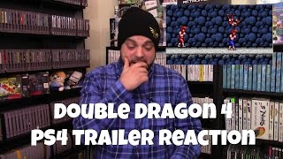 Double Dragon 4 PS4 Trailer Reaction/Discussion | RGT 85
