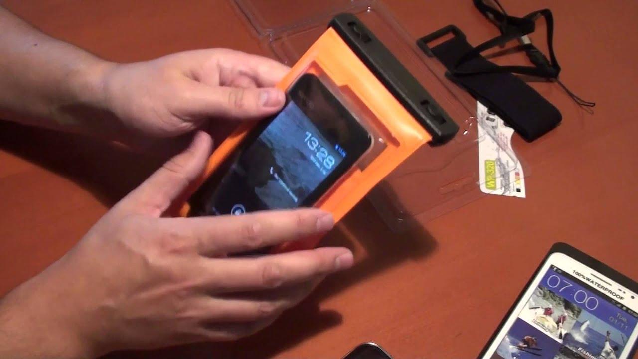 Водонепроницаемый чехол для телефона своими руками 28