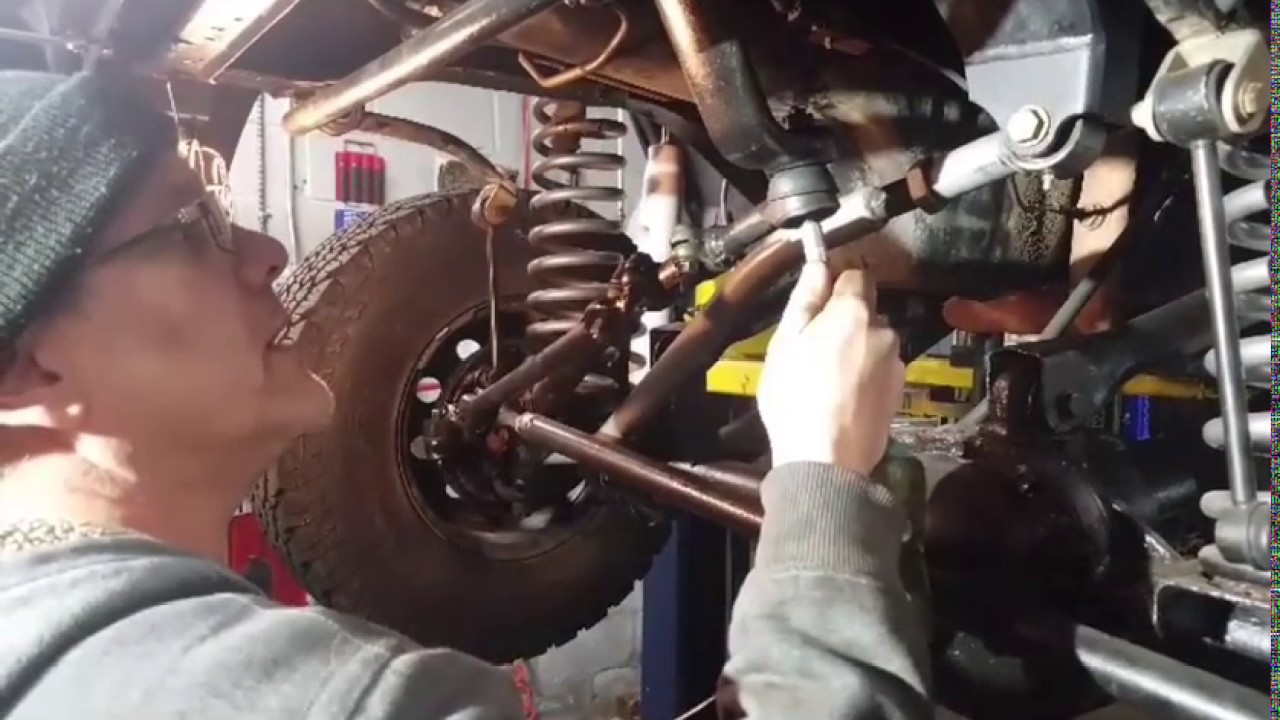 How to grease a fitting on a tie rod end, ball joint, sway bar link etc... - YouTube
