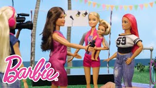 A Day in the Life of a News Team with Barbie® | Barbie® Careers | Barbie