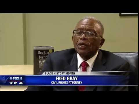 Civil rights attorney Fred Gray speaks in Dallas