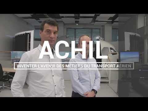 Découvrez le laboratoire ACHIL (Aeronautical Computer Human Interaction Laboratory)