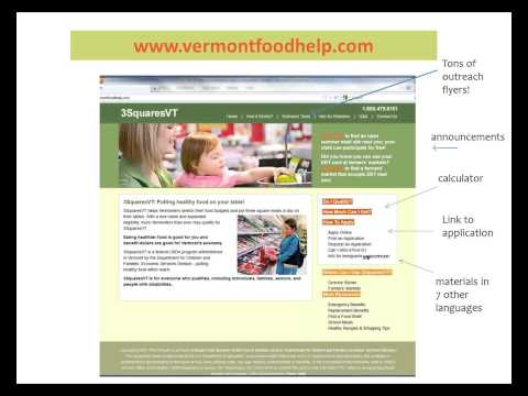 Help Vermonters Prepare for 3SquaresVT Benefits Cut Coming in November