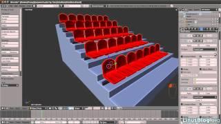 Blender 2.5. Урок — Модификаторы Array (Массив) и Curve (Кривая)