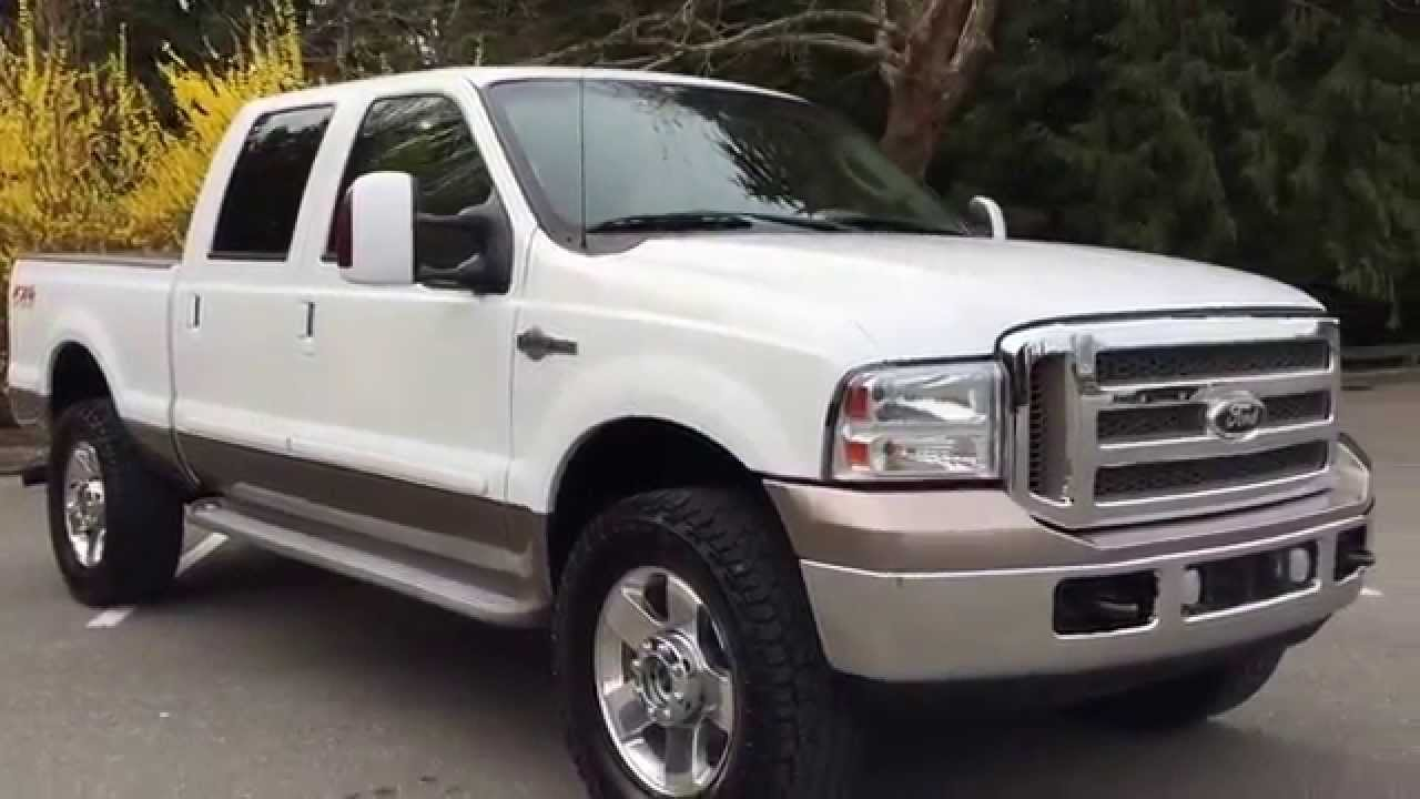2006 ford f350 king ranch for sale in langley bc 22 990. Black Bedroom Furniture Sets. Home Design Ideas
