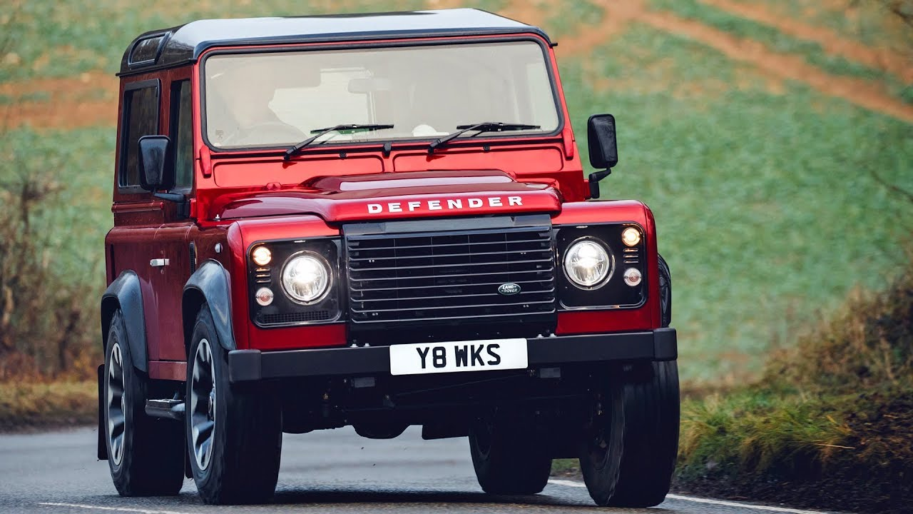 land rover defender v8 2018 features design driving [ 1280 x 720 Pixel ]