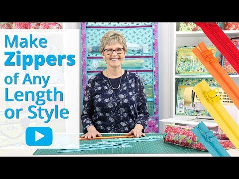 Make Zippers Of Any Length Or Style