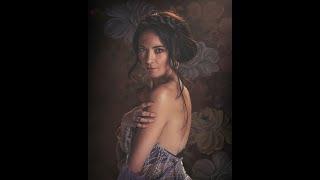 Fine Art Edit using Sean Archer Portrait Suite and Digital Backdrop