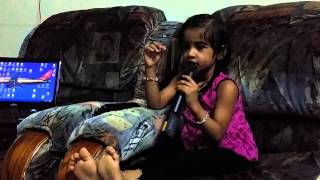 Kannam thumbi poramo..Alka 3years old..