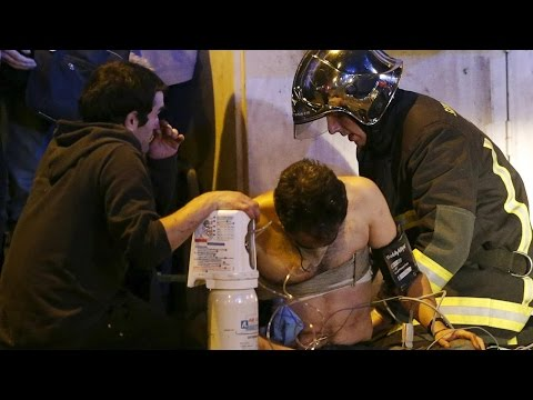 Paris attacks compilation (1/2): ISIS attacks on Stade de France and Bataclan in France - TomoNews