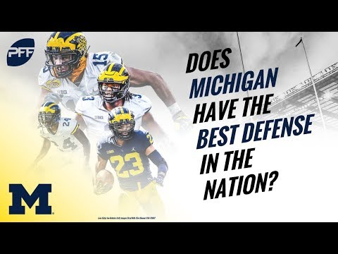 Does Michigan have the best defense in the nation? PFF - YouTube