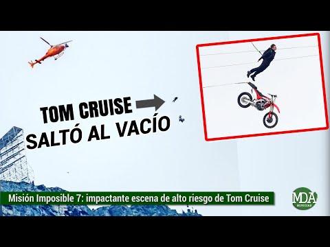 Filtran INCREÍBLE escena de TOM CRUISE en el rodaje de Misión Imposible 7