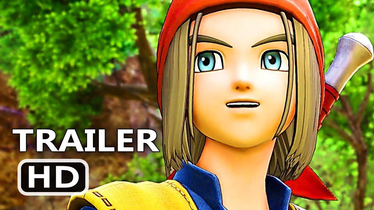 PS4 - Dragon Quest 1: Dragon Quest 8 Costume Reveal Trailer (2018)