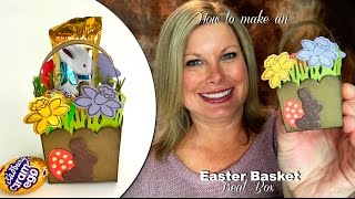 How to make an adorable Easter Basket Treat Box with Stampin Up
