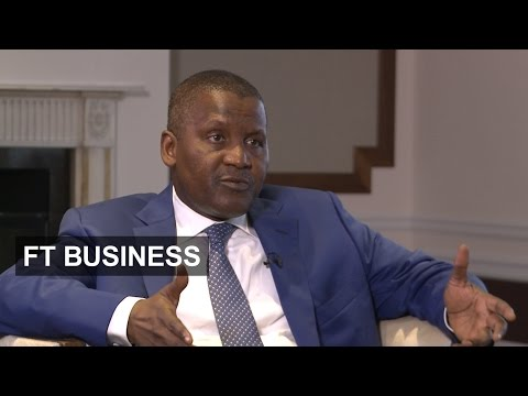 Dangote on investing in Africa | FT Business