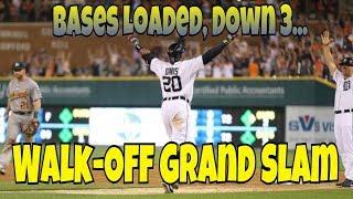 MLB: Walk-Off Grand Slams (Down by 3)
