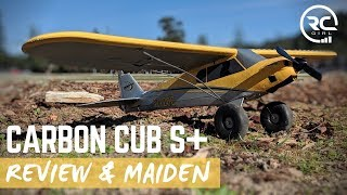 CARBON CUB S+     Review & Maiden (beginner's perspective!)