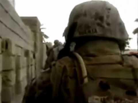 1st Marine Division in Fallujah Iraq Part IV *Actual War Footage*