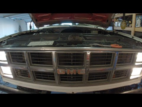 k5 blazer headlight wiring upgrade with relays carburetorssuck com rh youtube com