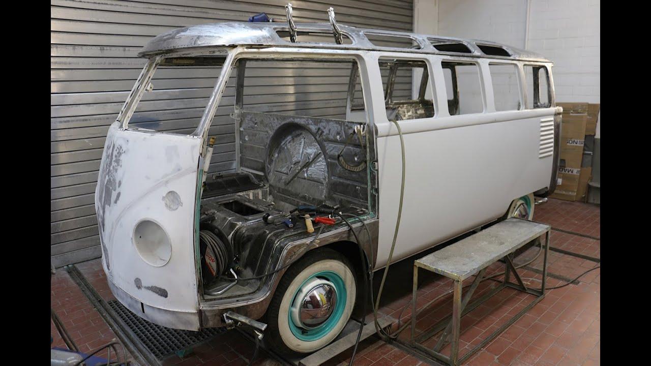vw t1 samba bus restoration warum dauert eine. Black Bedroom Furniture Sets. Home Design Ideas