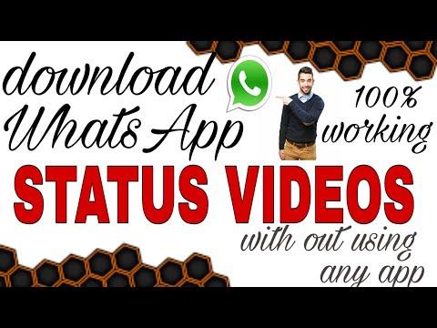 How To Download Whatsapp Status Video In Telugu