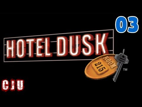 Let's Play Hotel Dusk: Room 215 Part 3 - I've Got Myself A Paperclip