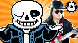Undertale - sans. (A Bonely Medley) [Guitar & Violin Cover/Remix]    String Player Gamer