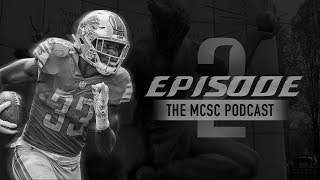 Will Kerryon Johnson Rush for 1,000 Yards in 2019? MCSC Podcast #2 Feat. Dragon Den Sports