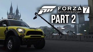 Forza Motorsport 7 Gameplay Walkthrough Part 2 - TROPHY TRUCKS (Full Game) Xbox One X 4K 60fps