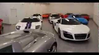 Lebron Jame's Personal Car Garage ($5 Million worth)