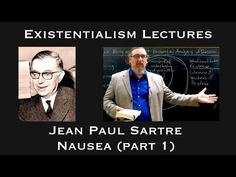 Existentialism, Jean-Paul Sartre, Nausea (part 1)