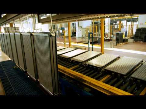 Производство радиаторов отопления. Завод Daikin   SANDI+