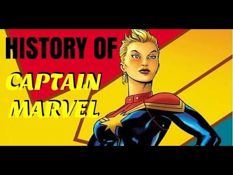 History Of Captain Marvel (Carol Danvers) | EXPLORING COMICS