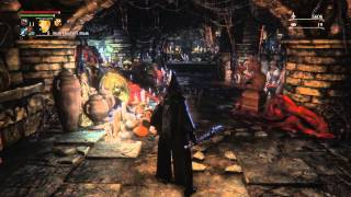 Bloodborne Chalice Dungeon illusory wall secret crypt room [NO SPOILERS]