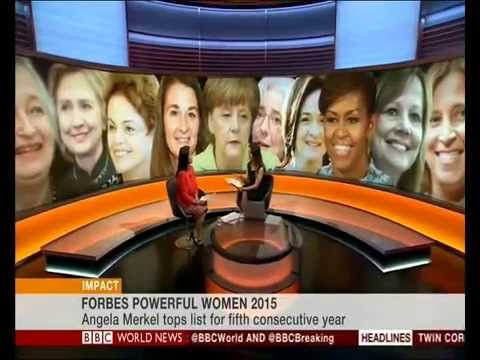 Lopa Patel discusses Forbes Magazine's 'The World's 100 Most Powerful Women' on BBC World News